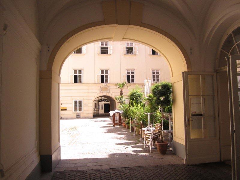 Palais Esterházy Innenhof