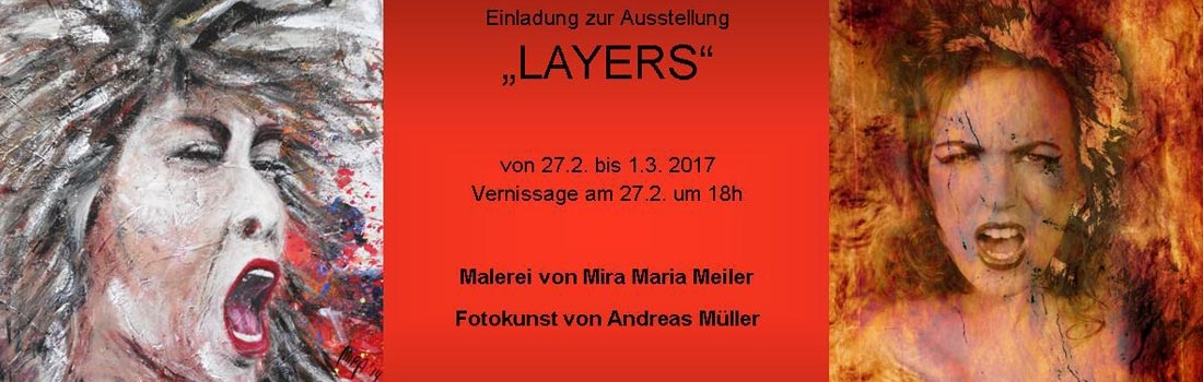 "27.02. – 01.03.2017 – Ausstellung ""Layers"""